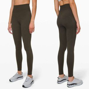 Lululemon High Rise Keep The Heat Thermal Tights